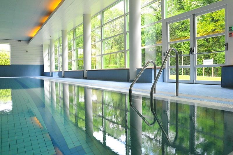 La piscine aux Thermes